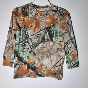 Outfitters Ridge Fall Camouflage Long Sleeve Shirt
